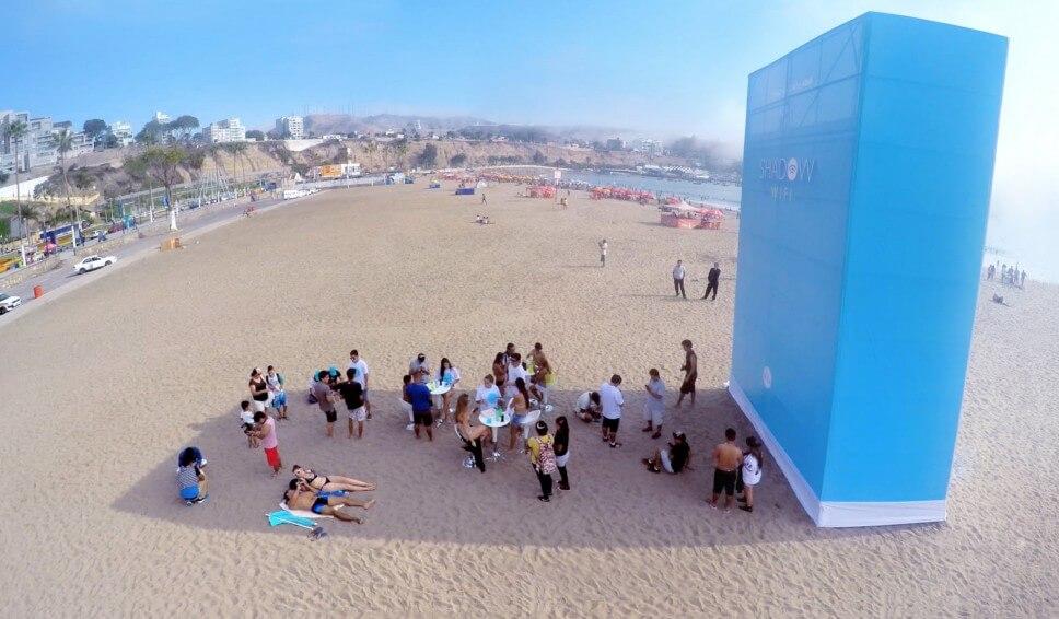 Nudging på stranden