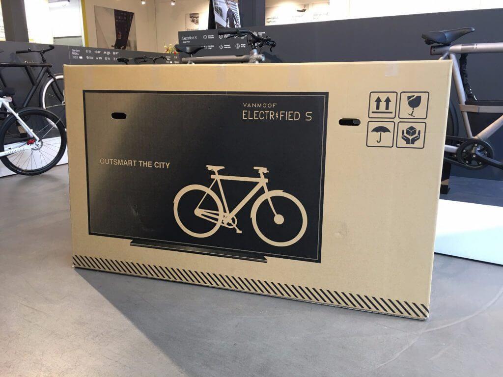 Bike in a (tv) box - VanMoos