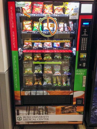 Automat med indbygget forsinkelse (Copyright: Brad Appelhans)
