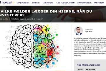 Webinar om investering med Jens Balle